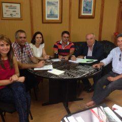 Reunión con el nuevo Consejero de Transportes del Cabildo de G.C. D. Francisco Trujillo
